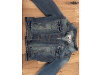 New Look Cropped Denim Jacket