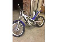 sherco trials bike not gasgas beta montessa gasgas