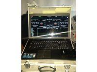 Pa system karaoke loaded laptop
