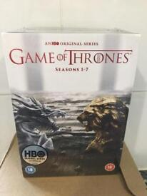 Game of thrones seasons 1-7, brand new sealed