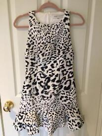 Keepsake snow leopard dress (XS)