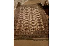 Silk rug 172 x 229cm