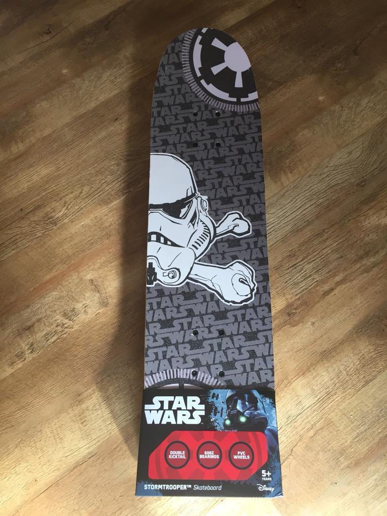 a6788dbd4e Star Wars skate board  NEW