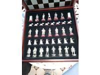 BBC Dr Who Chess Set