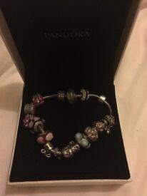 Genuine pandora bracelet large