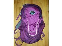 Osprey Daylite Daypack / Backpack in Eggplant 13L £30