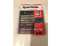 Jigsaw blades as pictured