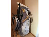 Sun mountain front nine stand bag in great condiyion