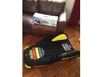 Inflatable pro series toboggan/sledge 4 foot long