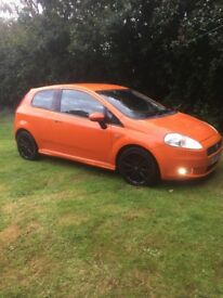 Fiat Grande Punto Sporting Turbo Diesel 130 bhp and 50 miles gallon