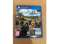 * LIKE NEW * FARCRY 5 PS4 * PLAYSTATION 4 *