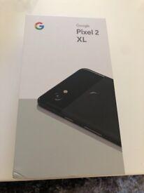 Google Pixel 2 XL 64gb Black unlocked