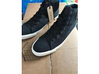 Black size 10 jack and jones trainers brand new