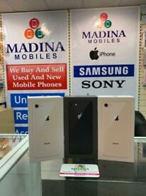 **MEGA OFFER** APPLE IPHONE 8 256GB UNLOCKED COMES WITH WARRANTY & RECEIPT
