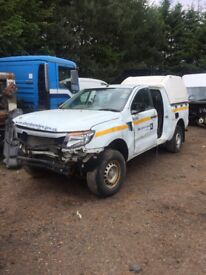 Ford Ranger 2012 Breaking for Spares