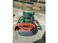 electric lawn mower for the garden