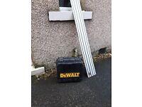 Dewalt circular saw with 1400 guide rail
