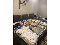 Baby boys 9-12 clothes bundle