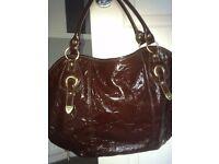 Large Shoulder / Handbag x 2 and Straw Beach / Shopper Bag