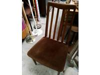 Set of 4 Gplan Dining Chairs Vintage Retro Chairs