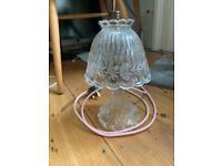 Beautiful cut glass Crystal lamp