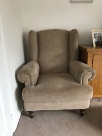 Wingback Chair - Nearly new condition