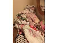 Job lot of 0-3 girls clothes