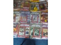 John wayne dvds with booklets £25