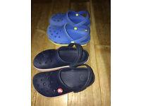 crocs boy shoes
