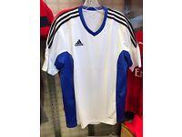 9x NEW Adidas Sports Team wear Shirts.