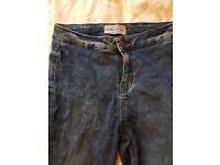 Women's high waist skinny jeans