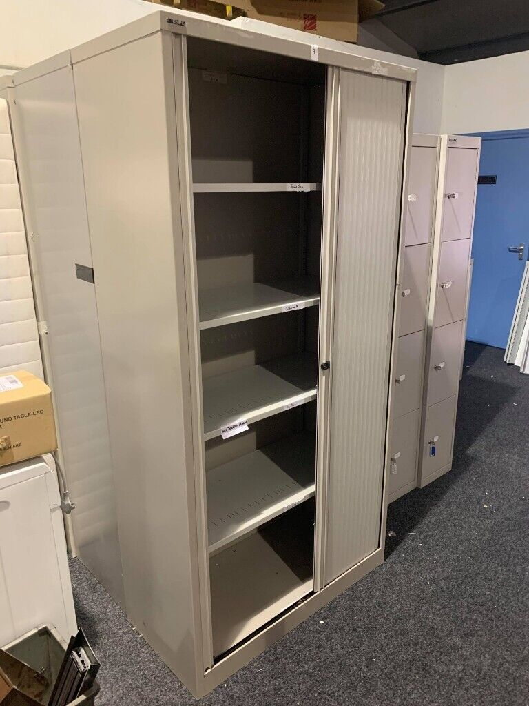 Surprising Tall Steel Storage Cabinets Sliding Doors Shelves Inside Lockable 2Nd Hand Office File Storage In Bessbrook County Down Gumtree Best Image Libraries Weasiibadanjobscom