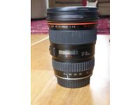 CANON 17-35mm f2.8 lens