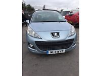 PEUGEOT 207 1.4 HDI DIESEL 2011 NEW TIMING BELT ETC NEEDS A INJECTOR AS LITTLE SHAKEY CHEAP CAR
