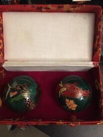 Rare and unique Chinese dragon balls
