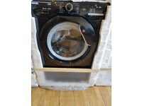 Hoover DHL1482DBB Link 8kg 1400rpm Freestanding Washing Machine With One Touch - Black With Black Li