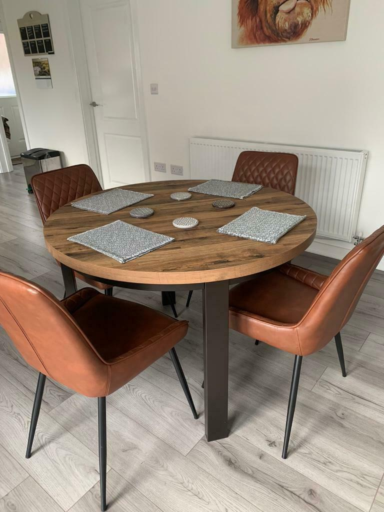 Round Dining Table Bronx Range From Next In Howden