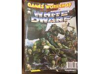 White dwarf games workshop magazines issues 104+105, 119-162