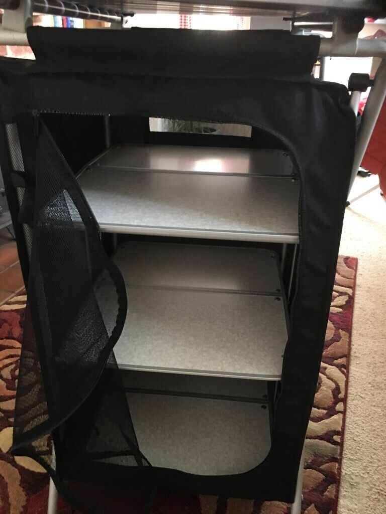 Royal Folding Camping Cupboard Comes With Storage Bag In Excellent Condition In Wimborne Dorset Gumtree