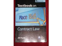 Contract Law and Tort Law Text Books - 2 for £4.00