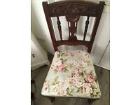Gorgeous solid vintage chair