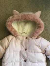 Girls NEXT coat age 3-4 years.