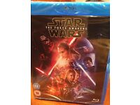 Blue ray DVD- Star Wars The Force Awakens