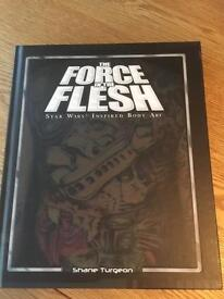 The Force in the flesh Star Wars body art book