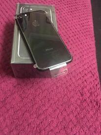 iPhone 7 128gb jet black unlocked brand new
