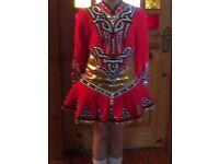 Irish dance dress Devlin design age 9-11 yrs perfect condition