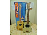 Early Learning Centre Childrens toy guitar. For Learning. boxed.
