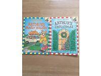2 NEW Arthur books