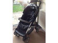 Petite Star Bizzi Stroller (Black), used
