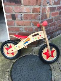 Kids balance bike (suit 2-5 yr old)